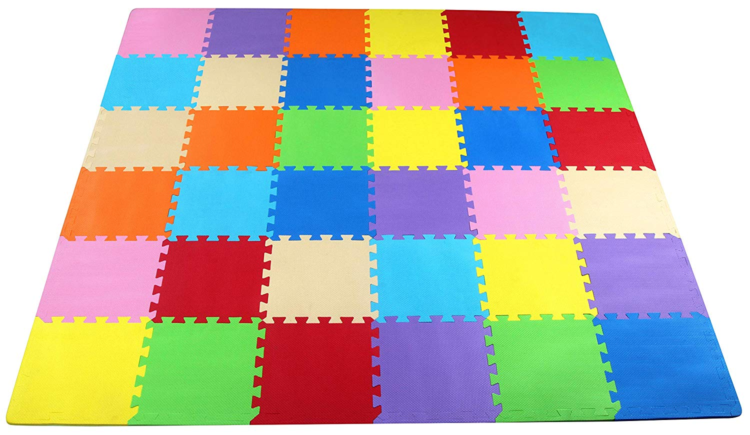 BalanceFrom Kid's Puzzle Exercise Play Mat.