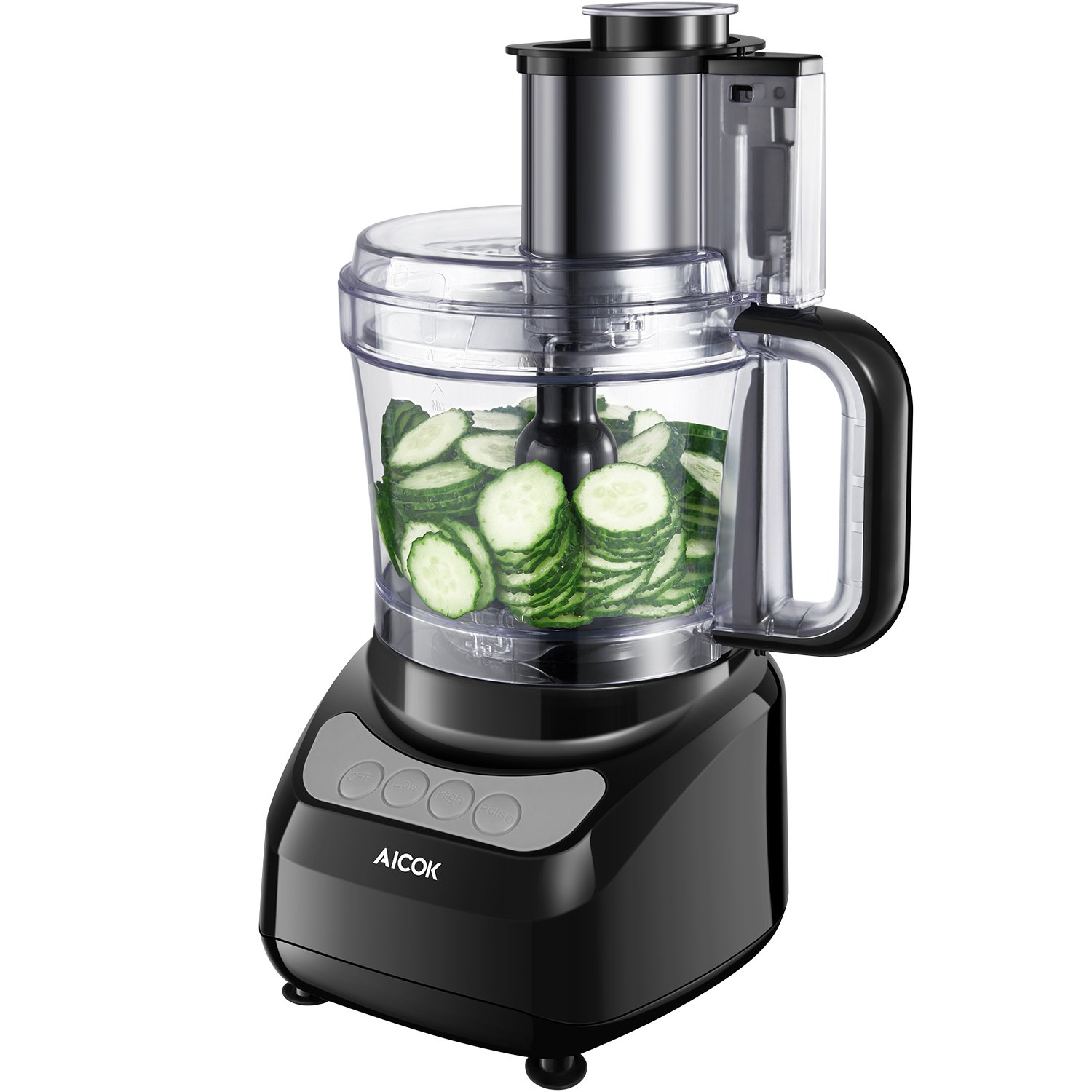 Aicok 12-Cup Food Processor Blender