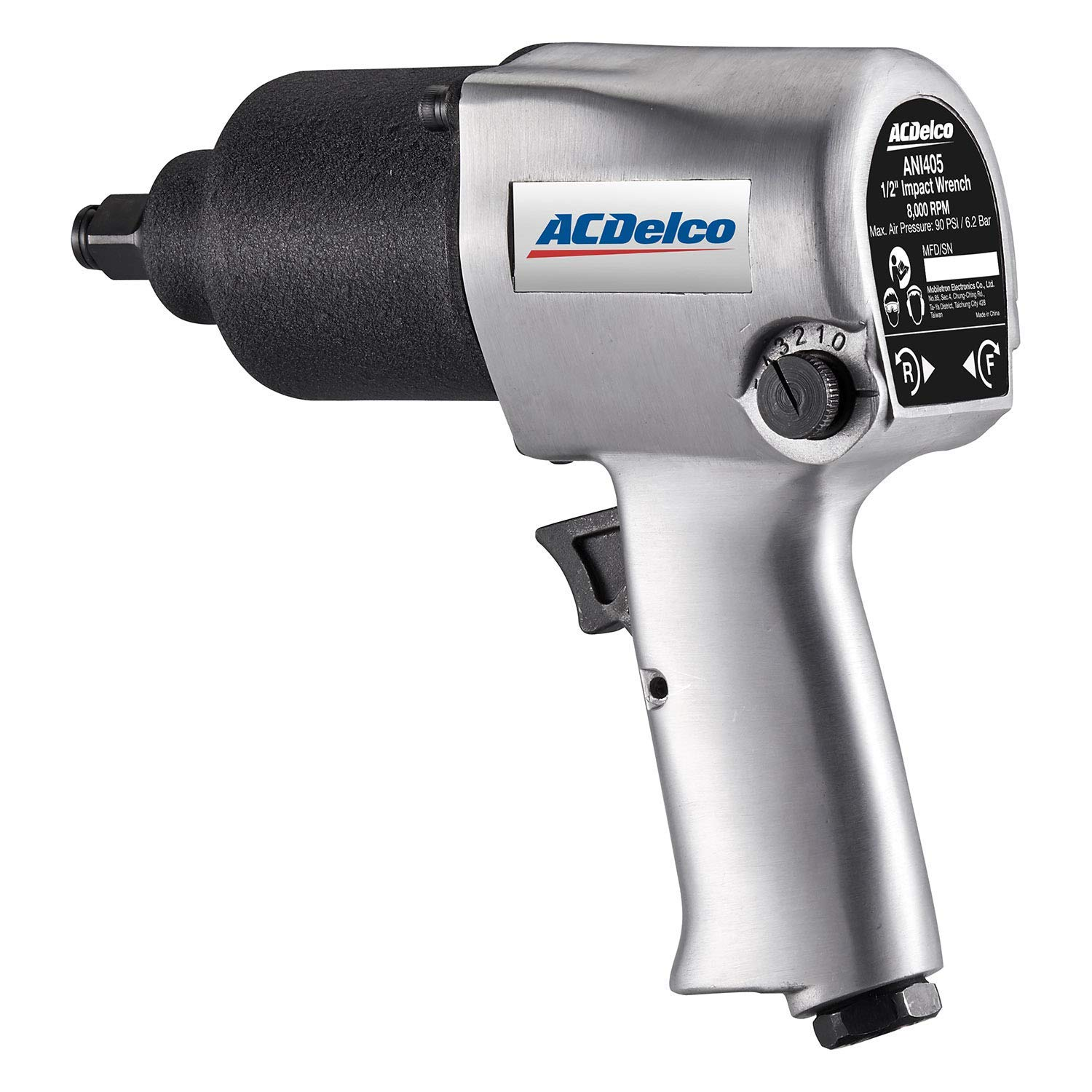 "ACDelco ANI405 Heavy Duty Twin Hammer 1/2"" Air Impact Wrench Pneumatic Tools"