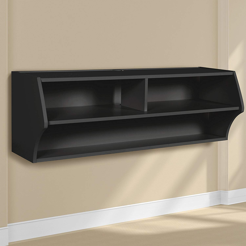 Espresso Altus Wall Mounted Audio Video Console