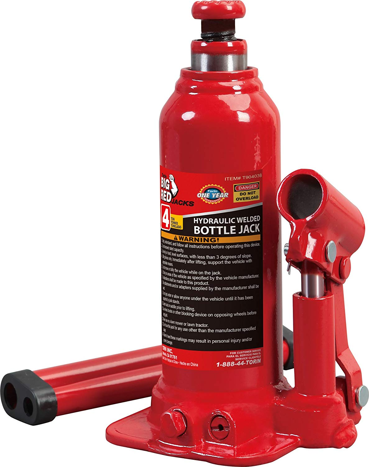The Torin T90403 Hydraulic Bottle Jack