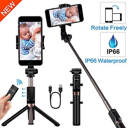 YOKKAO upgraded Waterproof selfie stick