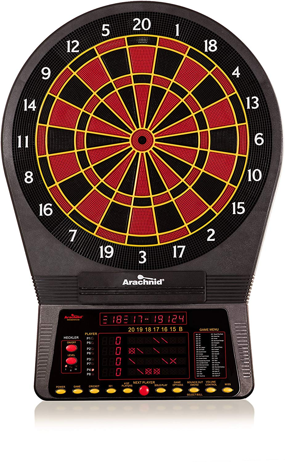 Arachnid Cricket Pro 800 Electronic Dartboard