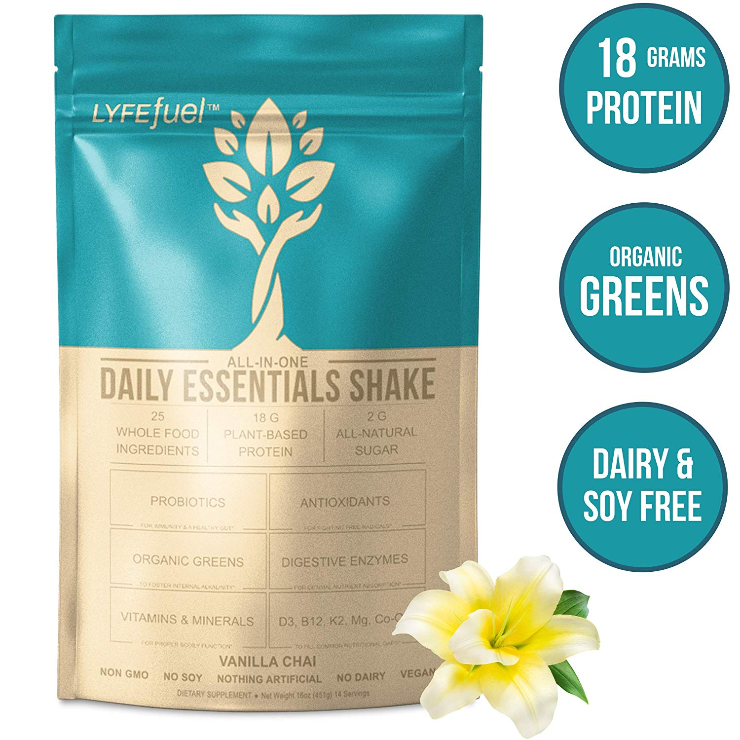 LyfeFuel Meal Replacement Shake