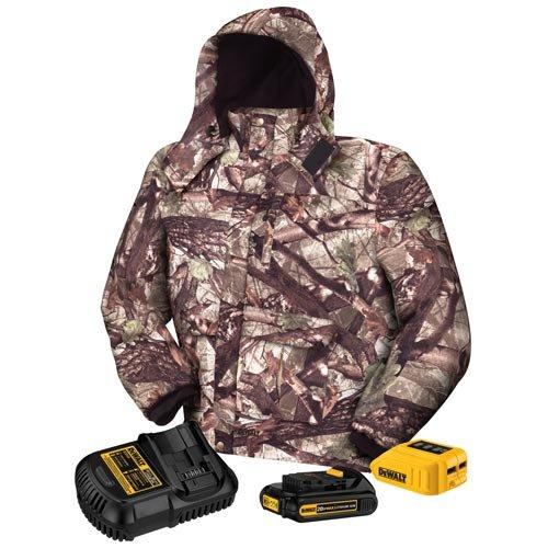 Dewalt Dhcjo62c1-s Camo Heated Jacket Kit