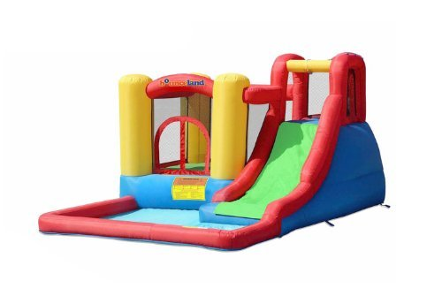 Bounceland Jump and Splash Adventure Bounce House Bouncer.