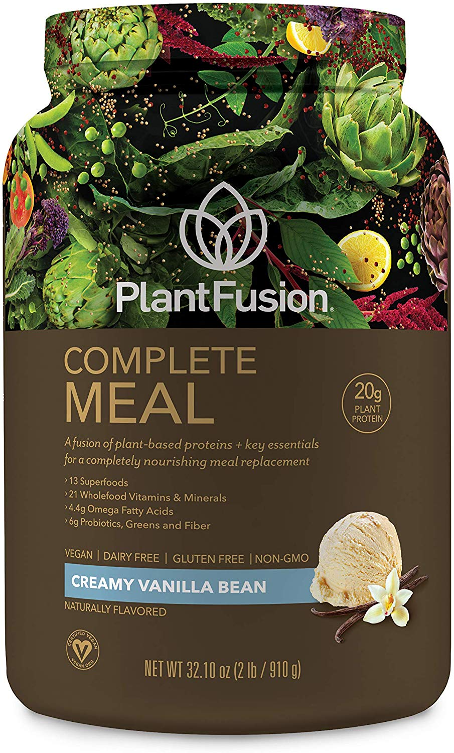Plant-fusion organic meal replacement shake