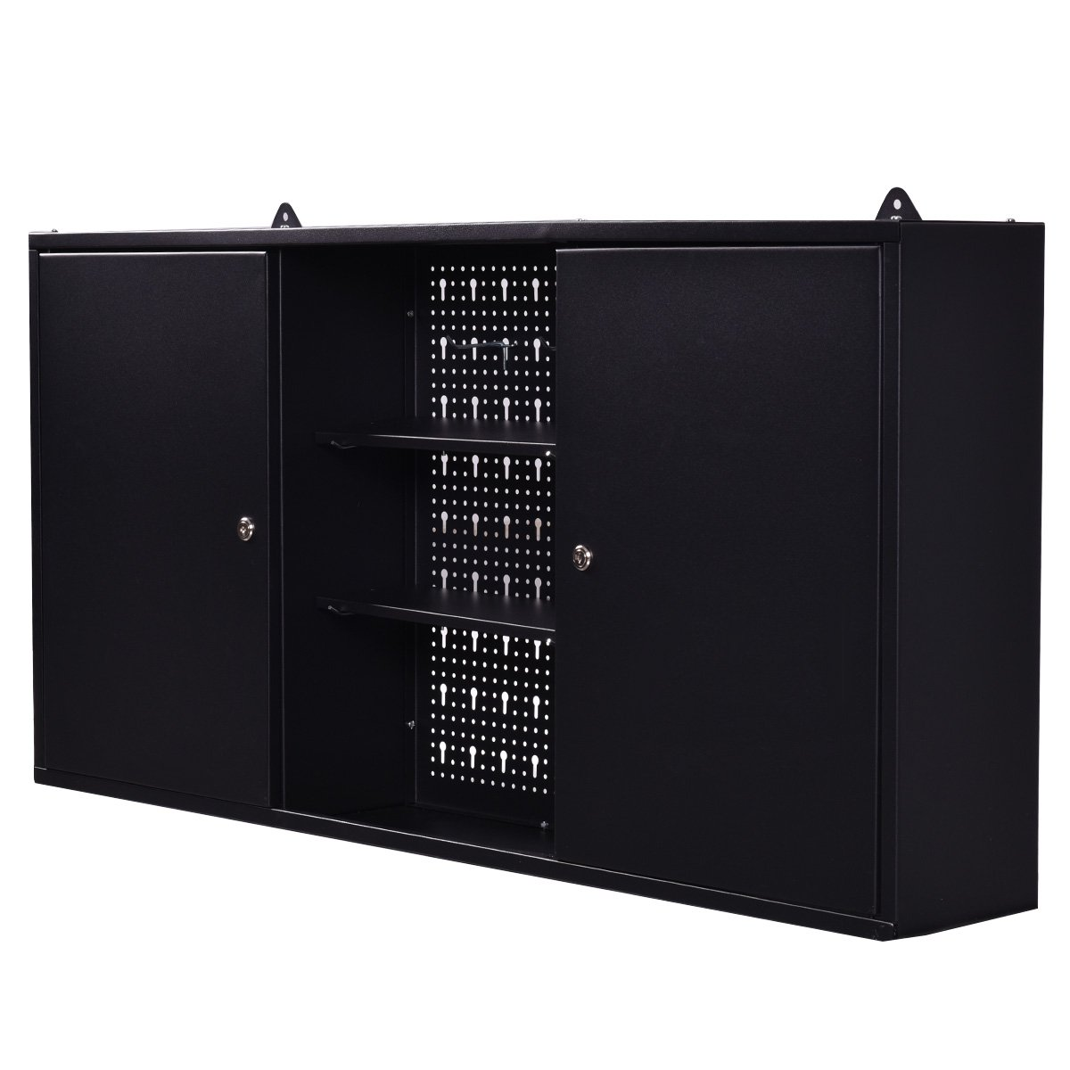 The GoPlus Wall Mounted Hanging Tool Cabinet