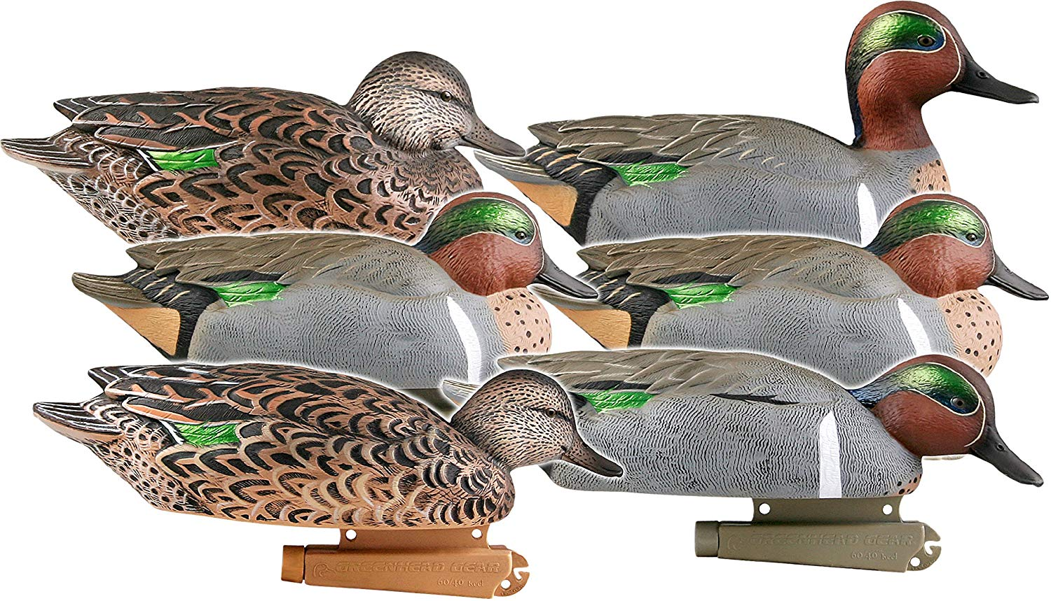 Avery GHG Pro-Grade Green-Winged Teal Decoys