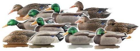 Avery Greenhead Gear Pro-Grade Mallard Harvester Floating Duck Decoys