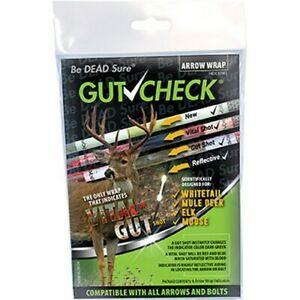 GUT CHECK Bow Hunting Archery Arrow Wrap