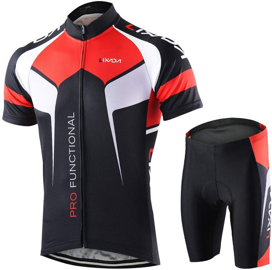 Lixada Men's Cycling Jersey Suit