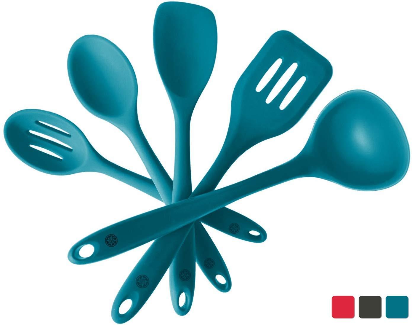 StarPack Home, Premium Silicone Kitchen Utensil Set (5 Pieces)
