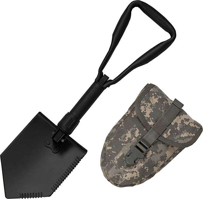 US GI Military Original Issue E-Tool Entrenching Shovel.