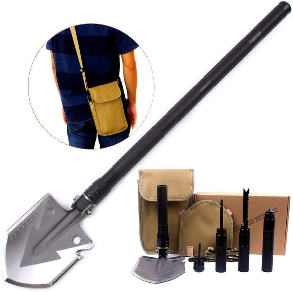 Utility Folding Shovel, MythGeek Survival Compact Folding Shovel Kit