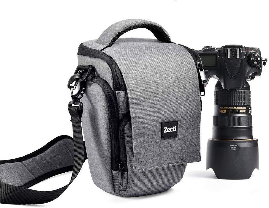 Zecti Soft Padded Camera Equipment Bag Case