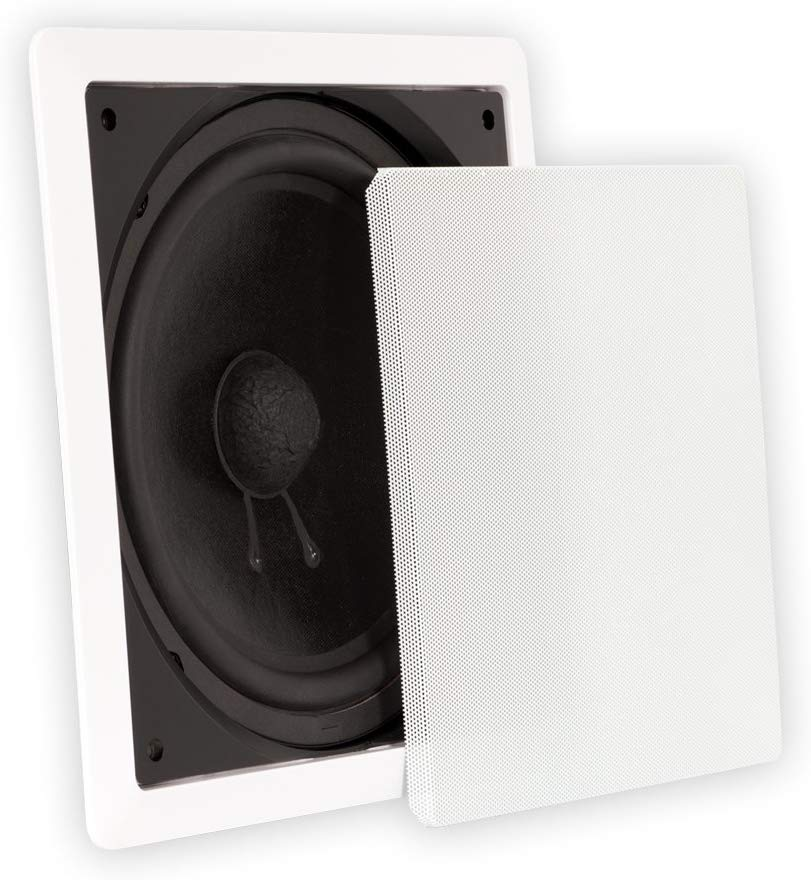 Theater Solutions, TS1000 In-Wall Surround Sound HD Subwoofer