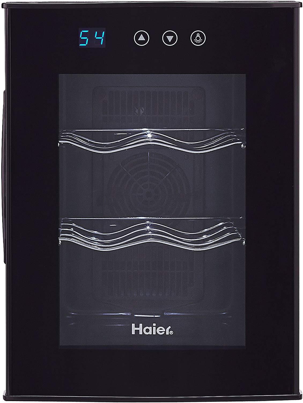 Haier 6 Bottle Wine Cooler – Wine & Beverage Center