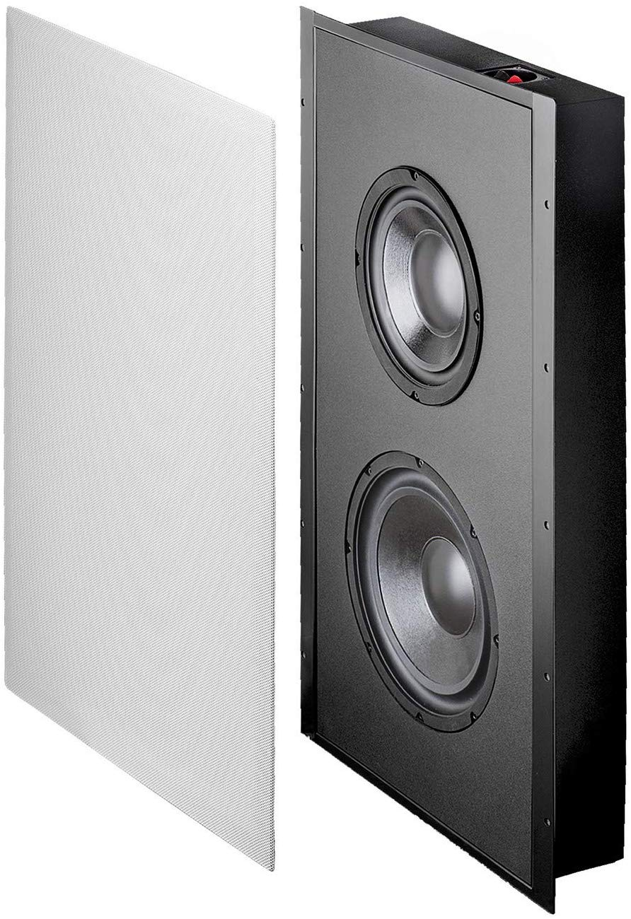 OSD Audio, in Wall SL800D Home Theater Subwoofer