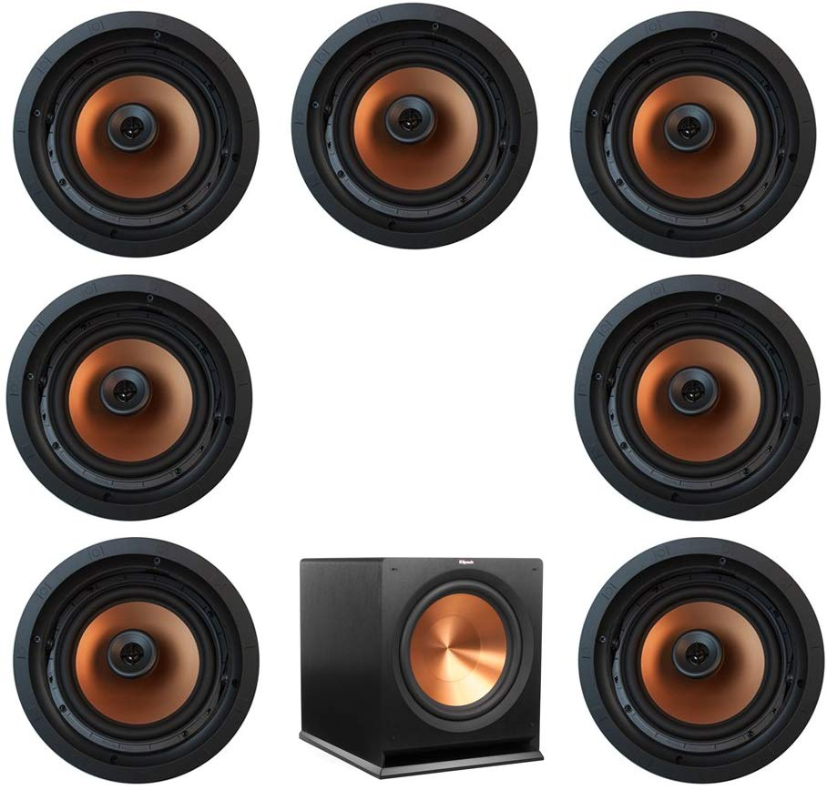 Klipsch, In-Wall Speaker System With Subwoofer