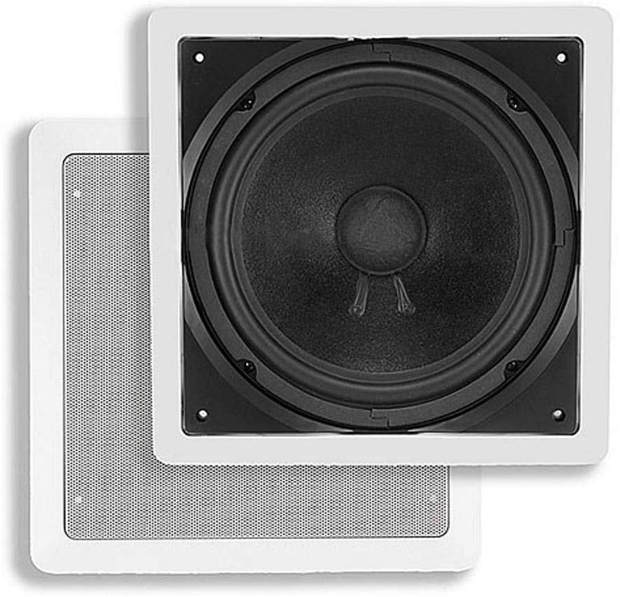 Monoprice, 104928 10-Inch Passive In-Wall Subwoofer