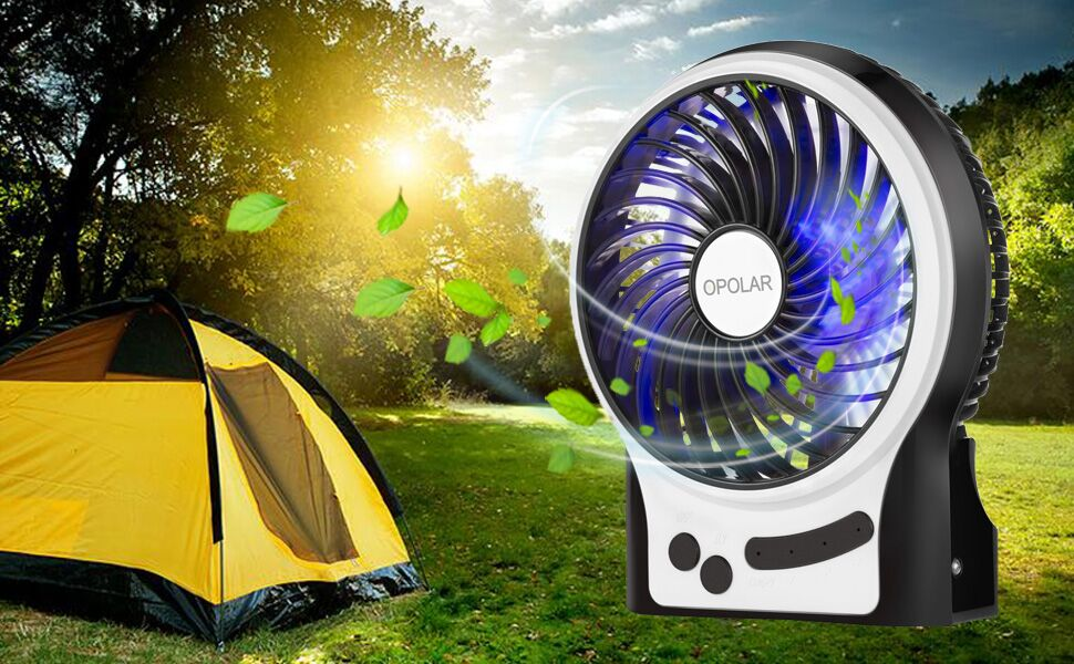 Best Tent Fan 2020 Top Camping Tent Fans Reviews