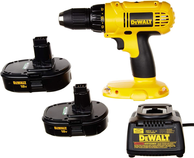 Dewalt DC970K-218 Cordless Drill