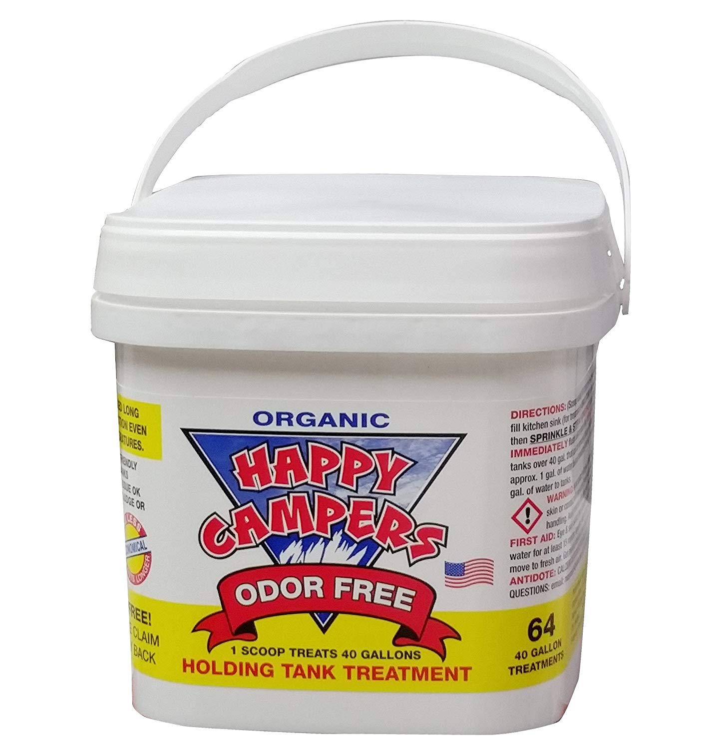 Happy Campers Organic Rv Holding Treatment