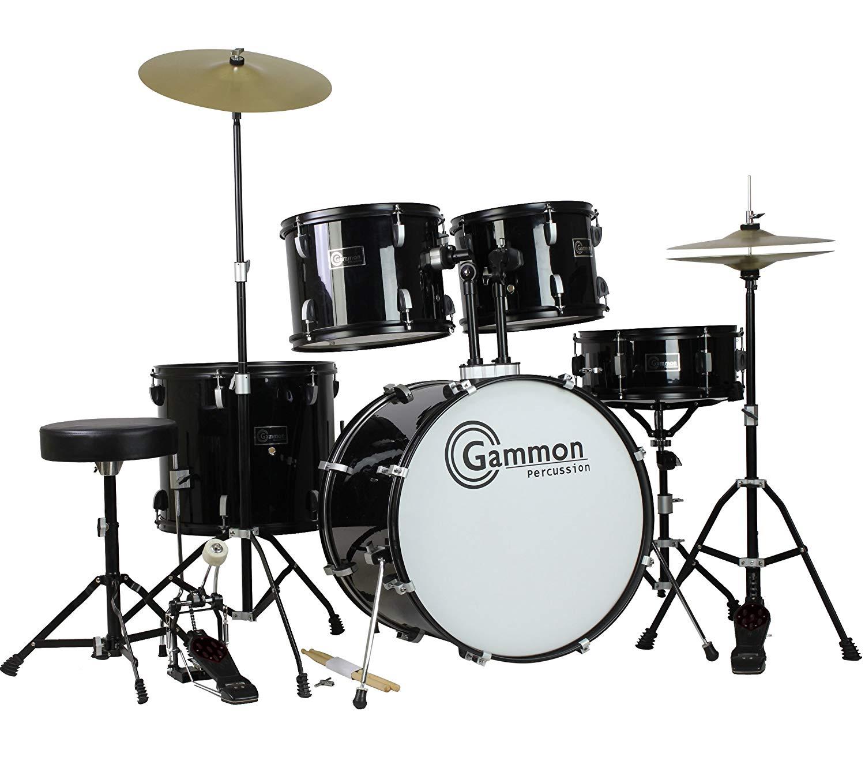 Gammon Percussion Sp5 Bk Drum Set