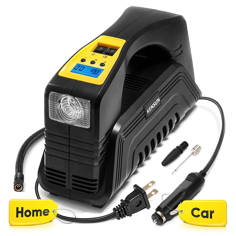 Kensun Ac/dc Digital Tire Inflator for Car