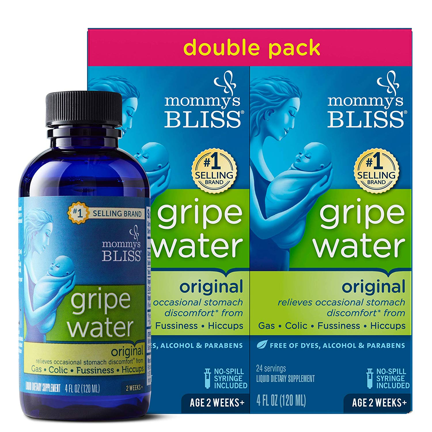 Mommy's Bliss Gripe Water Original Double Pack