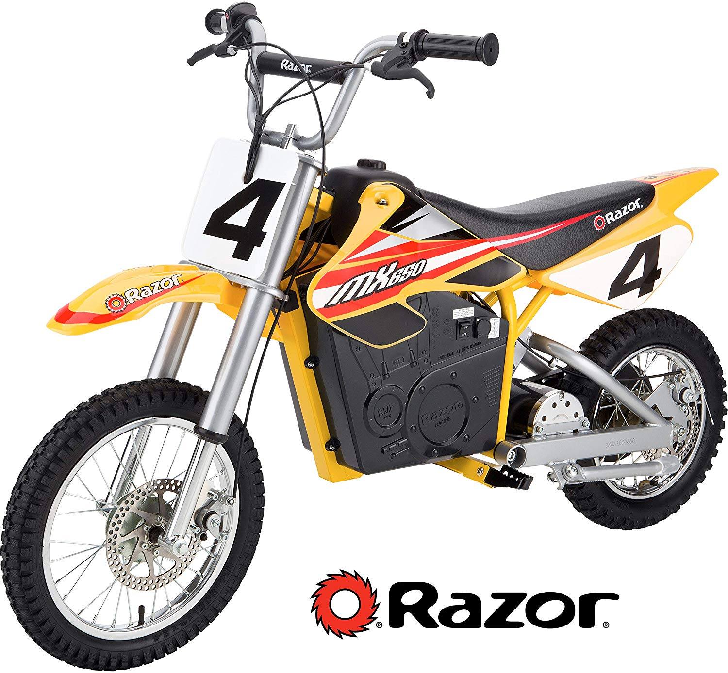 Razor MX650 Rocket Electric Motocross Bike.
