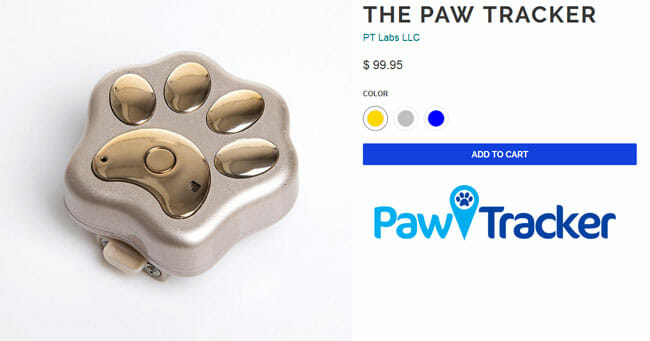 The Paw Tracker