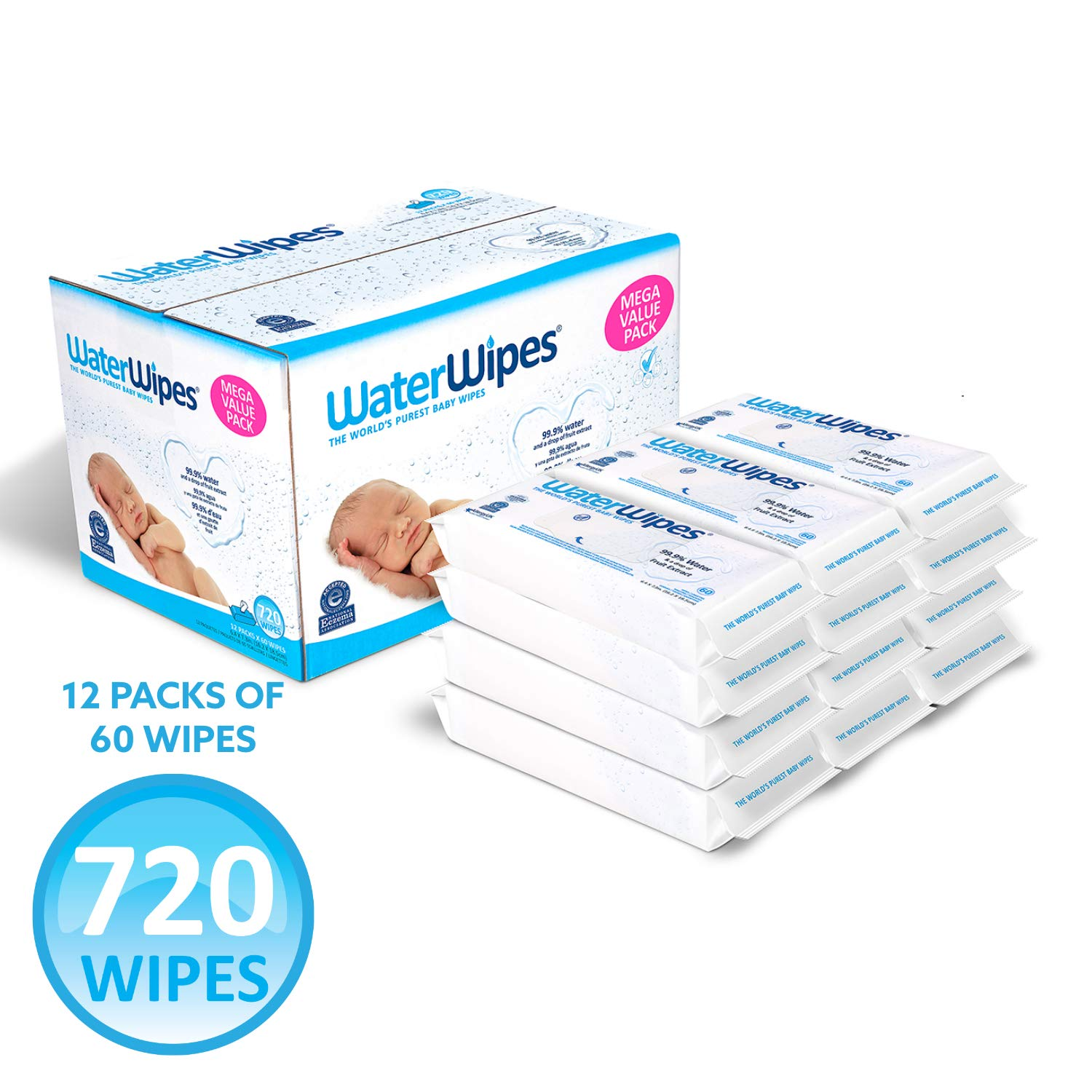 Water Wipes Sensitive Baby Wipes