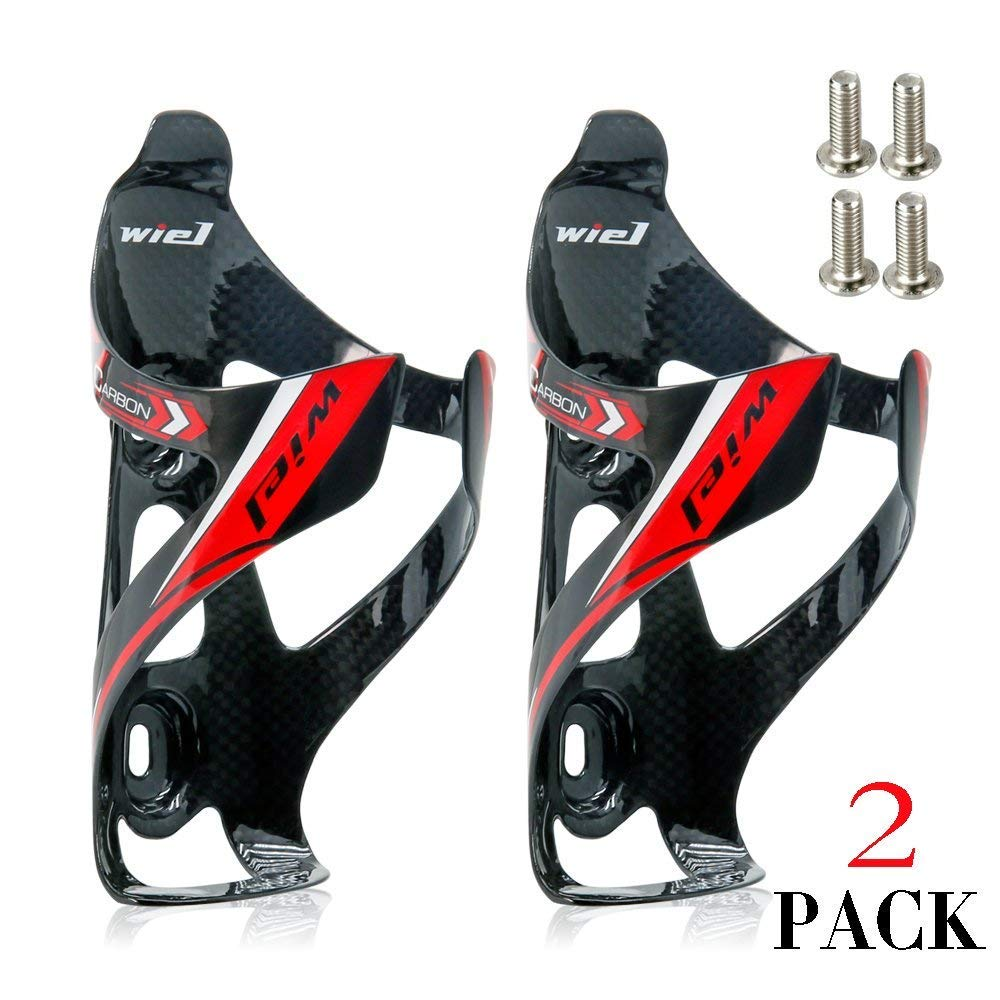 Wiel Full Carbon Fiber Bicycle Bike Bottle Cage