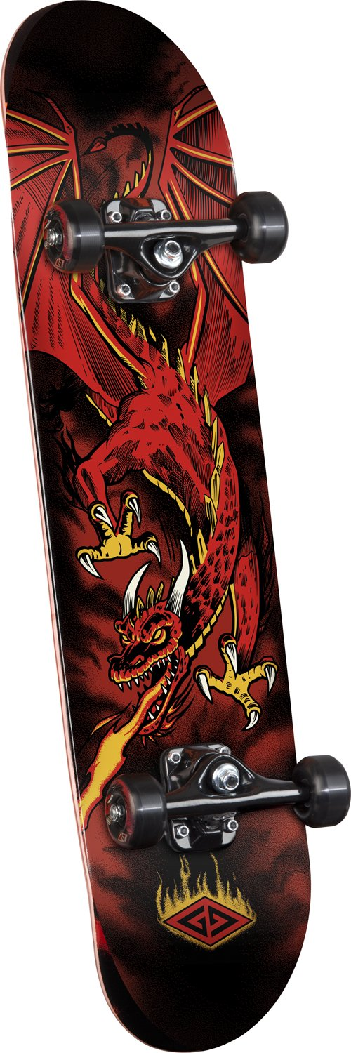 Powell Golden Dragon Flying Skateboard