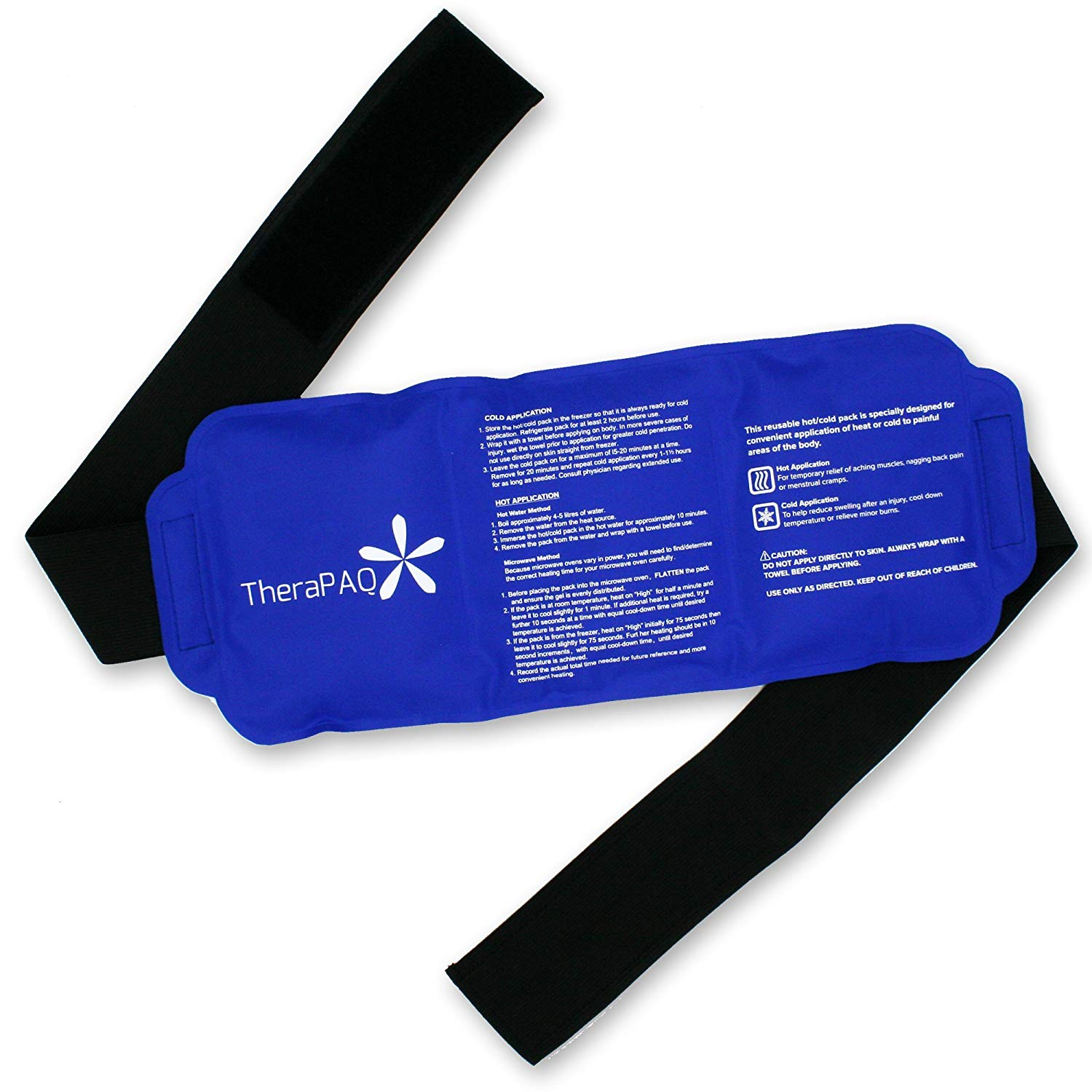 Pain Relief Flexible Ice Pack for Injuries by TheraPAQ