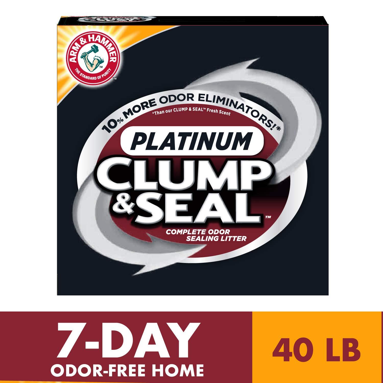 Arm & Hammer Clump & Seal Platinum Litter
