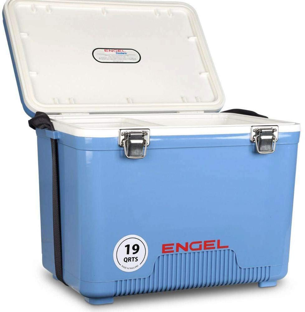 Engel cooler/dry box 19 qt- white