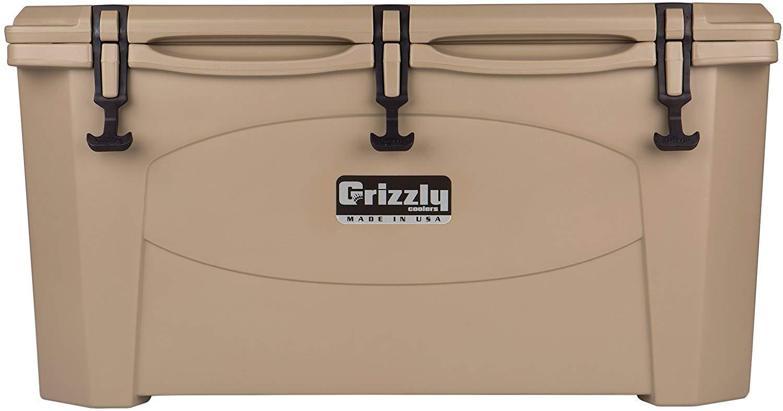 Grizzly 75 Quart Tan/Cooler