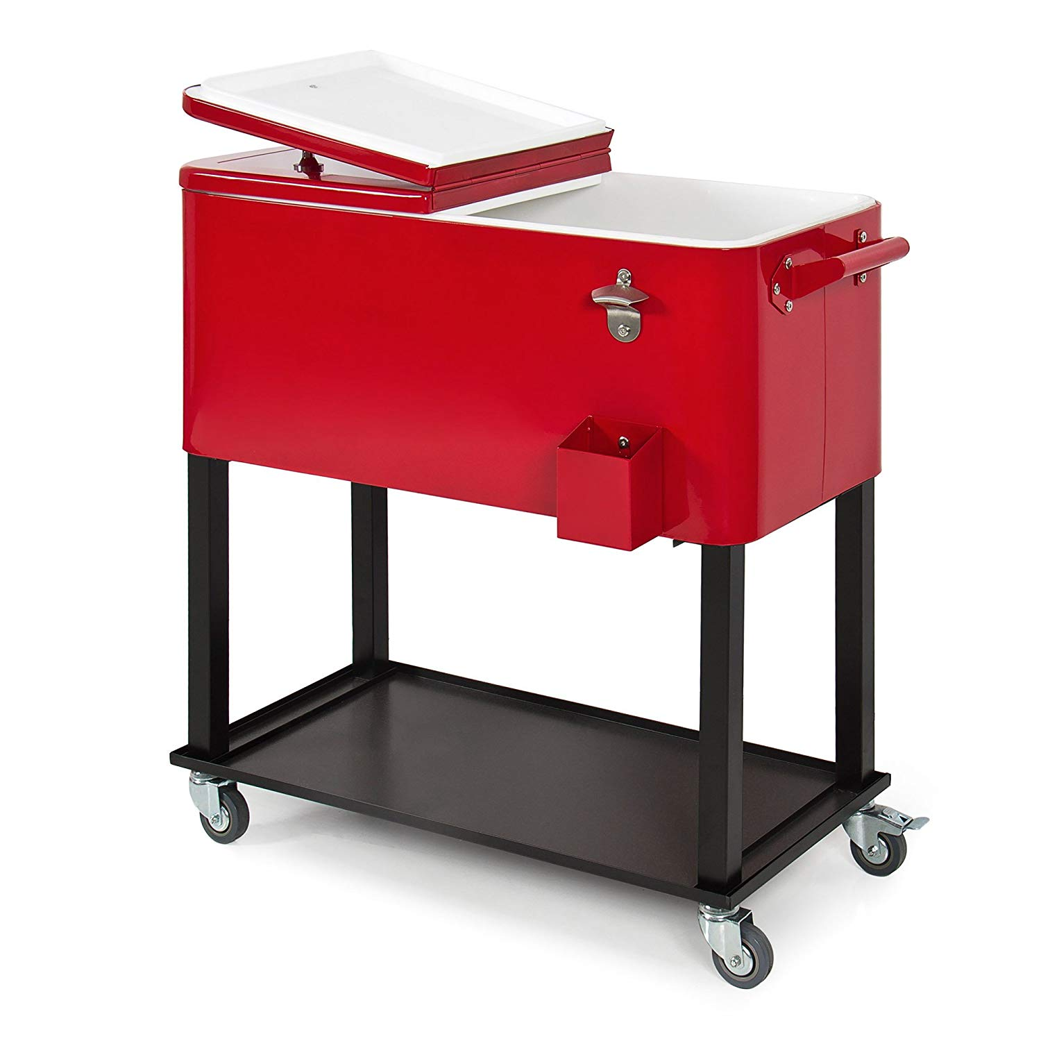Rolling Outdoor Patio Deck Party Cooler