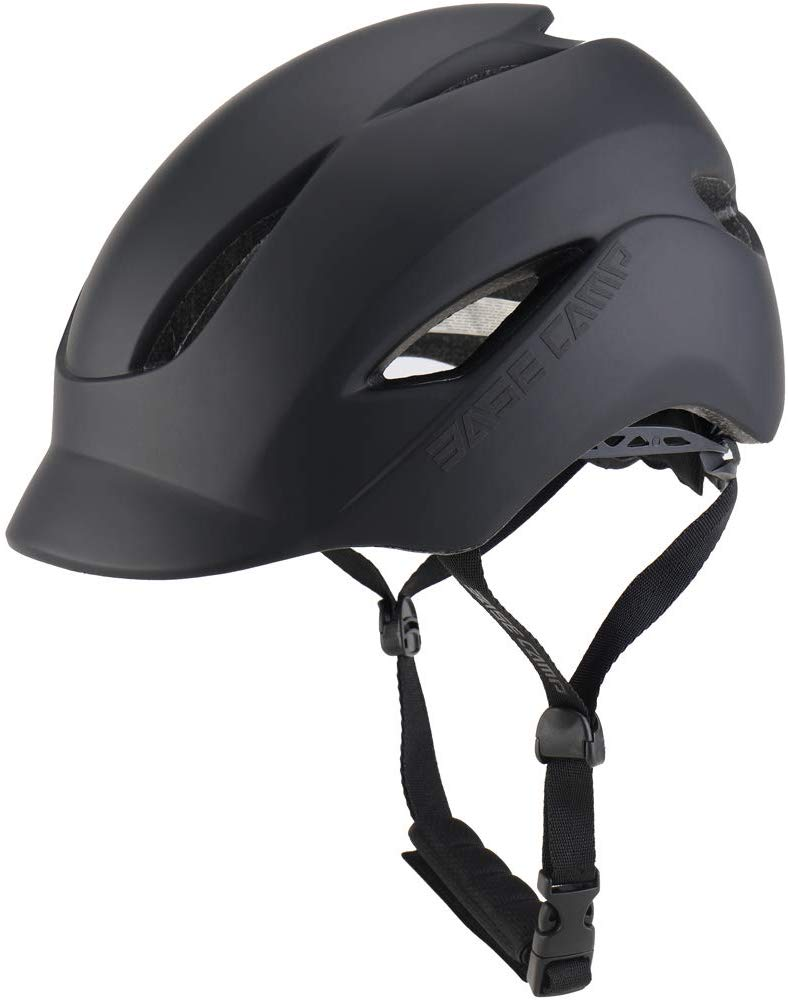 Base Camp Bike Helmet with Rear Light for Urban Commuters