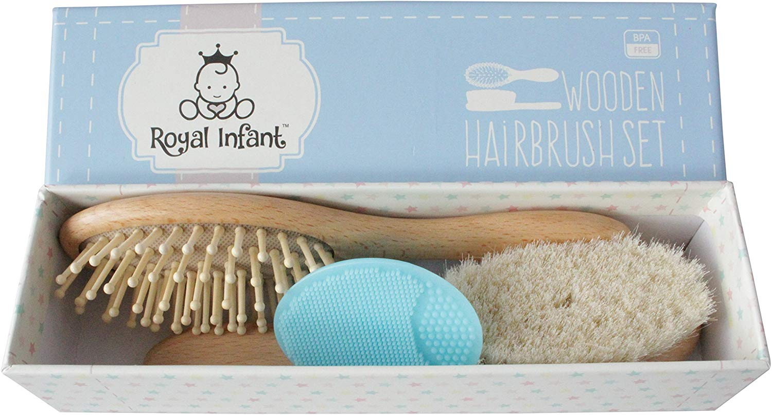 Royal Infant Natural Goat Hair Brush