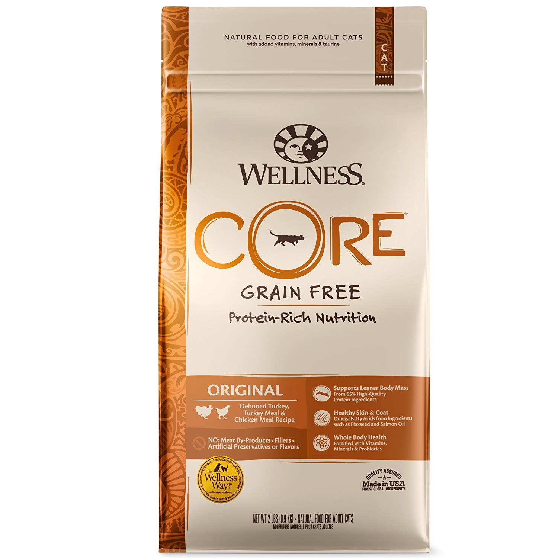 WELLNESS CORE Natural Grain-Free Dry Cat Food