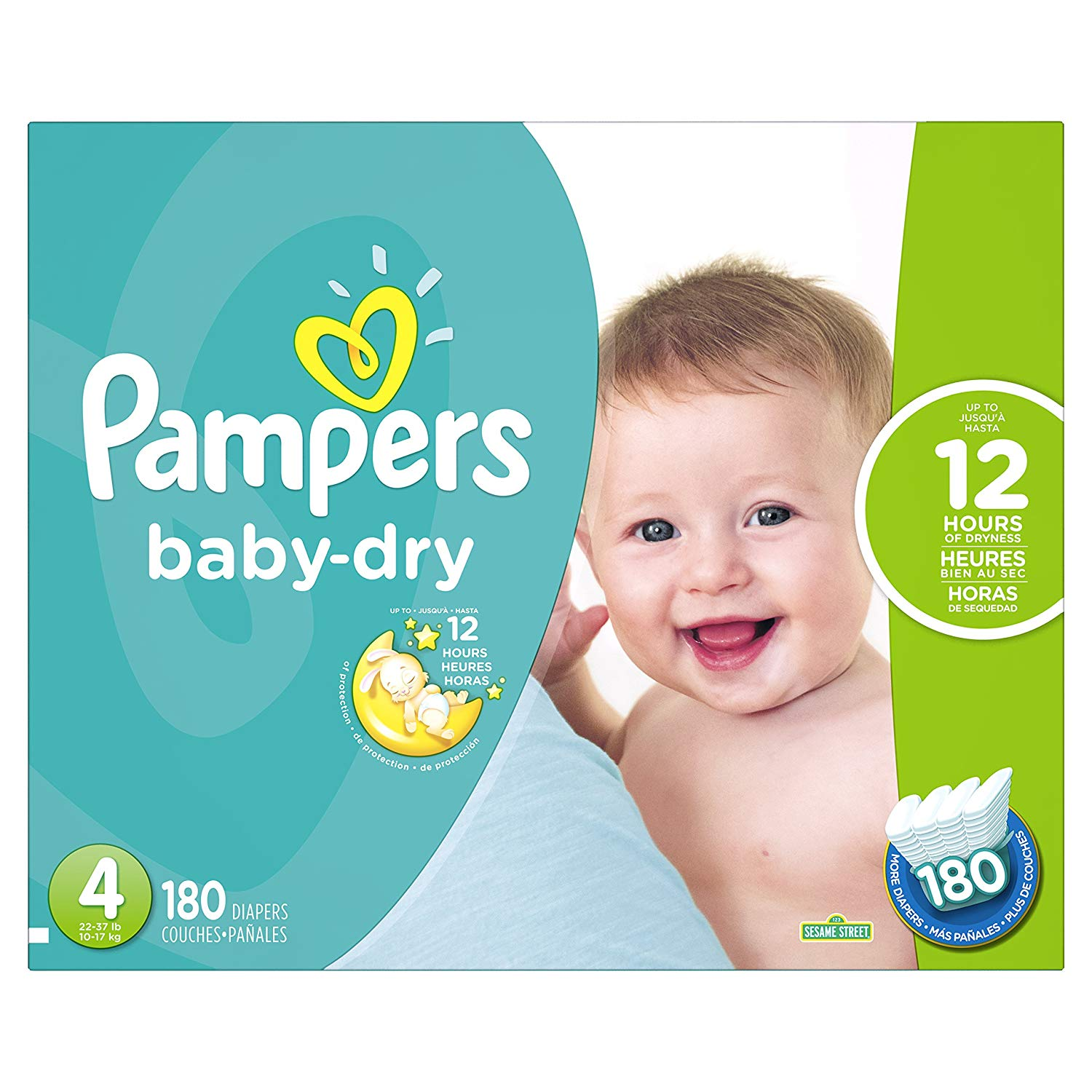 Pampers Baby-Dry Disposable Diapers
