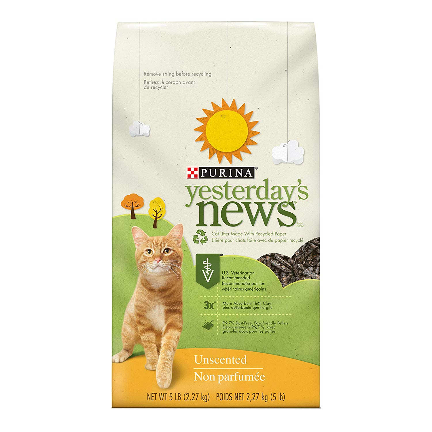 Purina Yesterday's News Non-clumping Paper Cat Litter