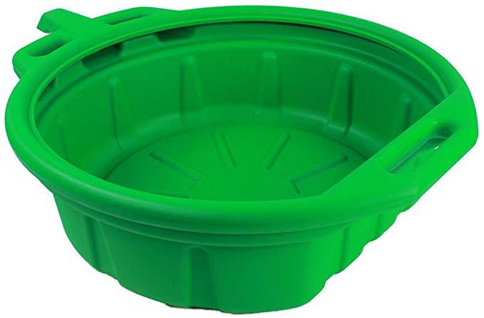 Capri Tools CP21023 Portable Oil Drain Pan, Anti-Freeze, Green