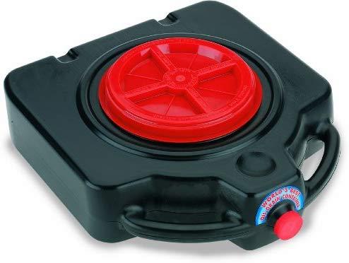 Lumax Black LX-1632 15 Quart Drainmaster Pan
