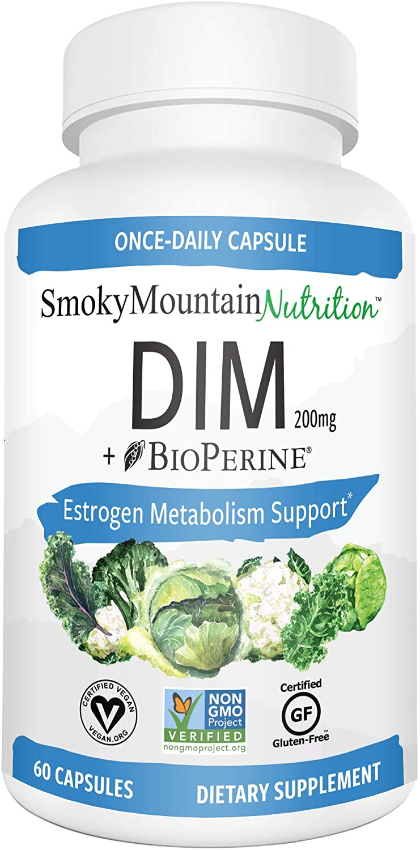 Smoky Mountain Naturals Dim Supplement 200mg