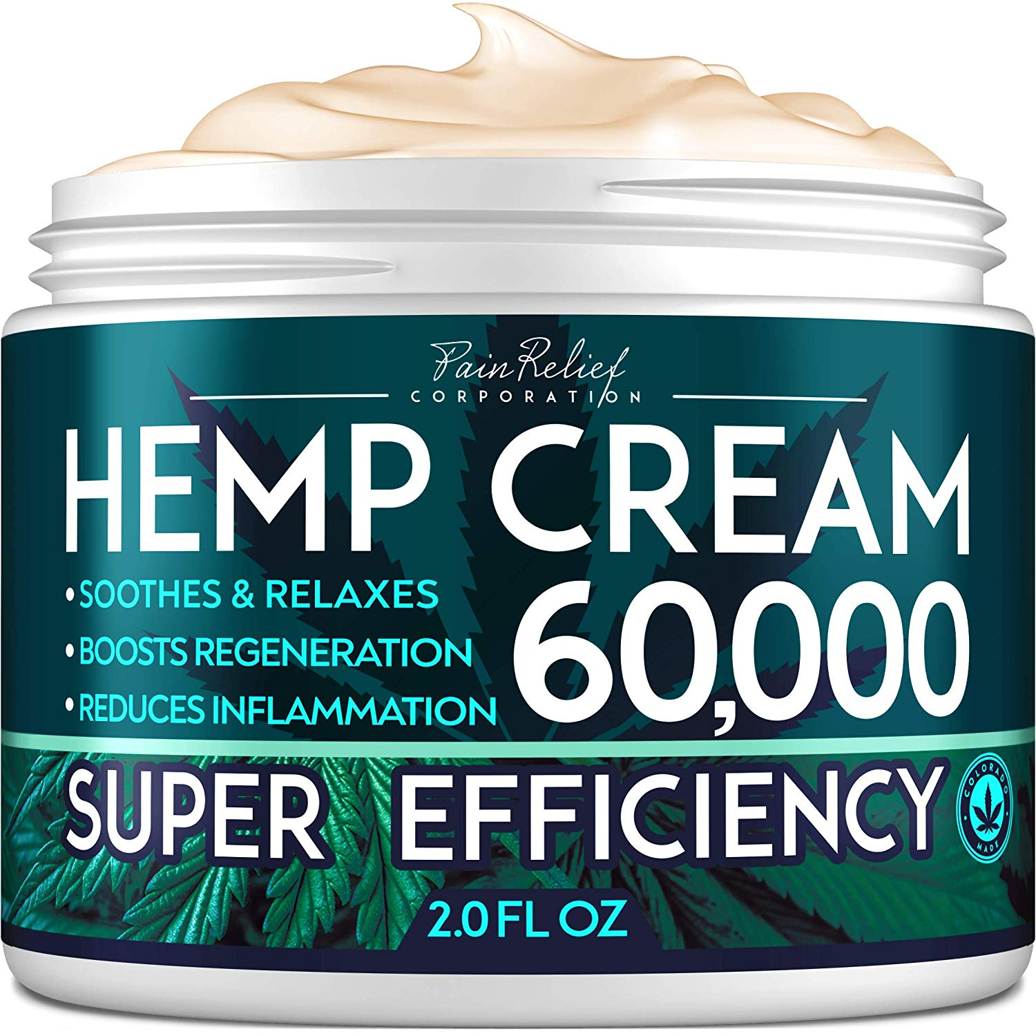 Hemp Pain Relief Cream by Pain Relief Inc.